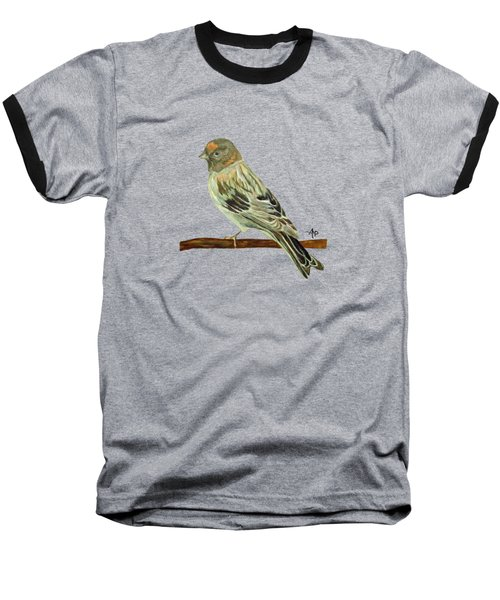 Red-fronted Serin Baseball T-Shirt