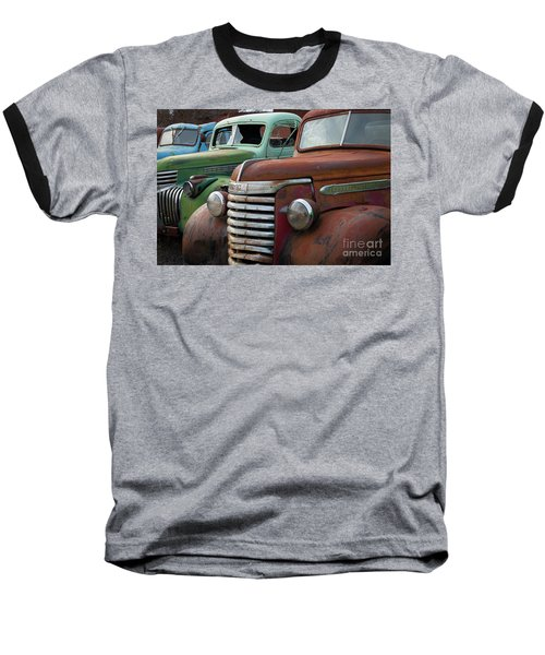 Red Green And Blue Baseball T-Shirt