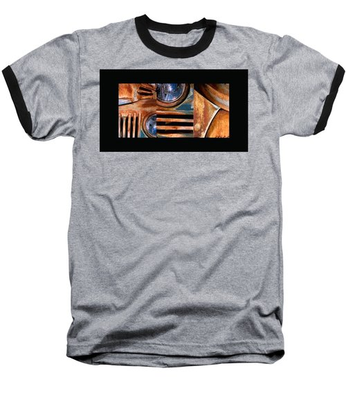 Baseball T-Shirt featuring the photograph Red Head On by Steve Karol