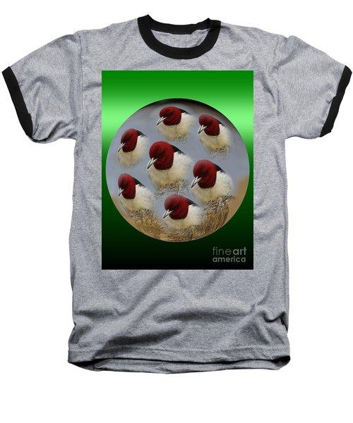 Red Head Baseball T-Shirt