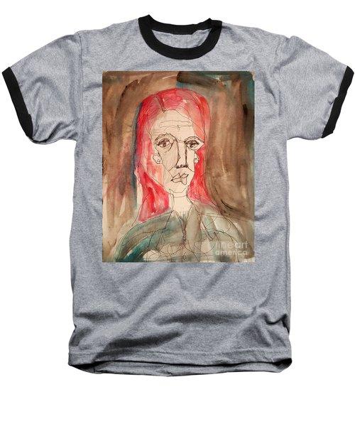 Red Headed Stranger Baseball T-Shirt