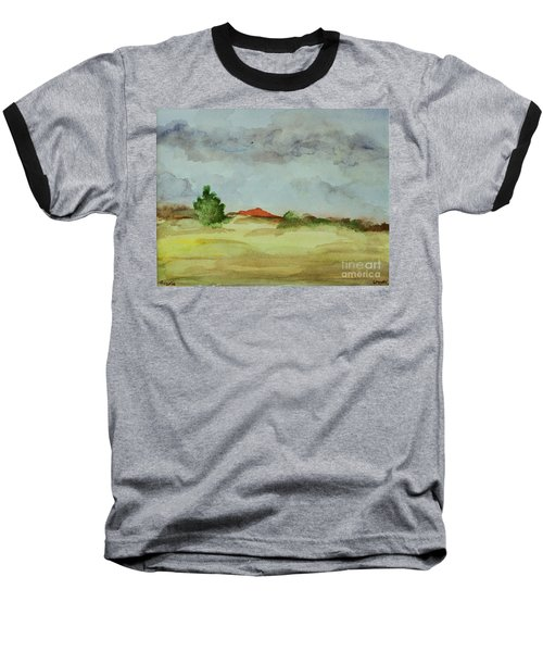 Red Hill Landscape Baseball T-Shirt
