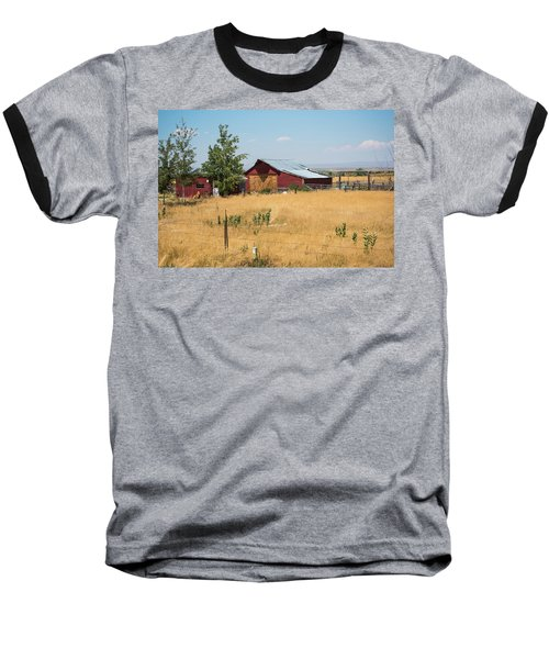 Red Home On The Range Baseball T-Shirt