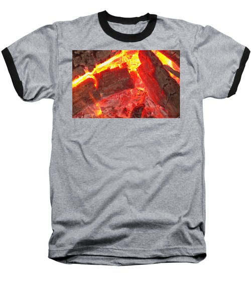 Baseball T-Shirt featuring the photograph Red Hot by Betty Northcutt