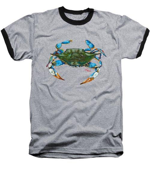 Red Hot Crab Baseball T-Shirt