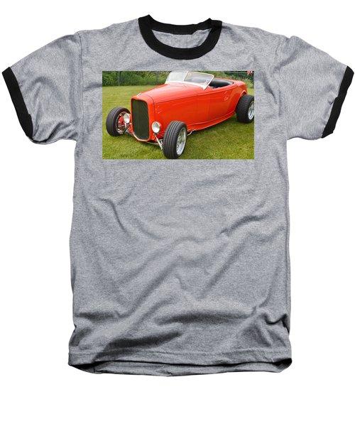 Red Hot Rod Baseball T-Shirt