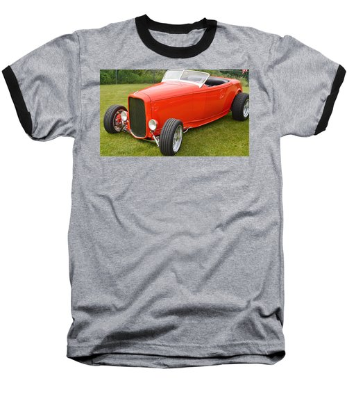 Red Hot Rod Baseball T-Shirt
