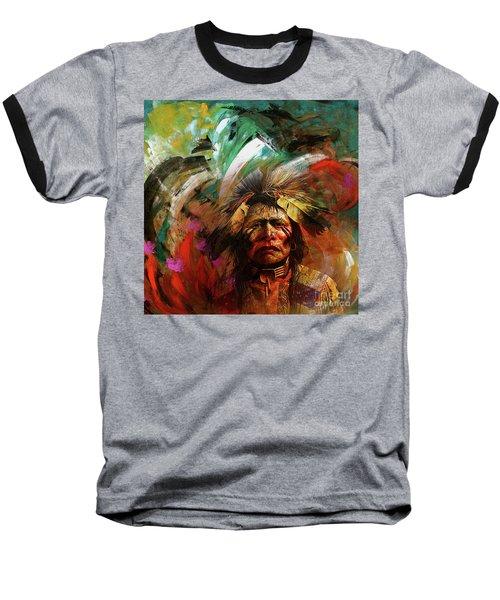 Red Indians 02 Baseball T-Shirt