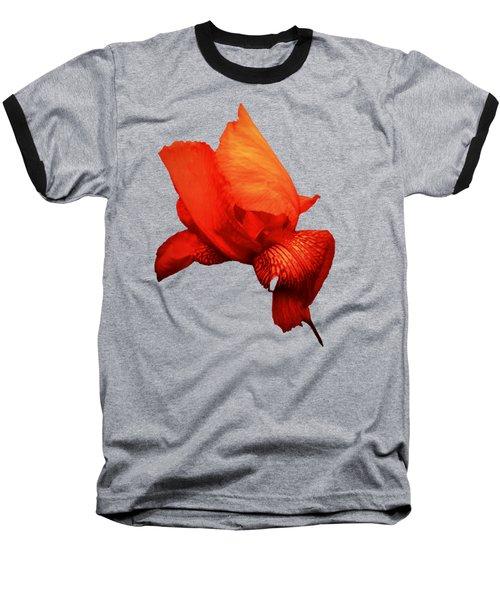 Red Iris Baseball T-Shirt