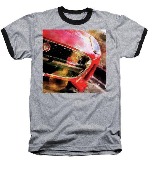 Red Jag Baseball T-Shirt by Robert Smith