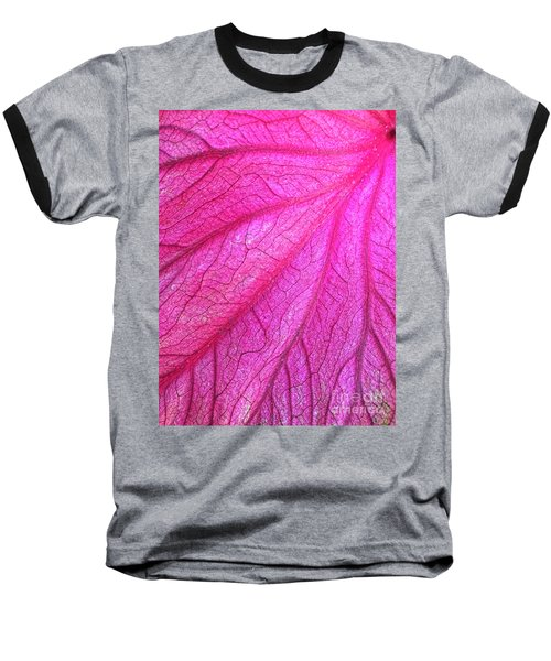 Red Leaf Arteries Baseball T-Shirt