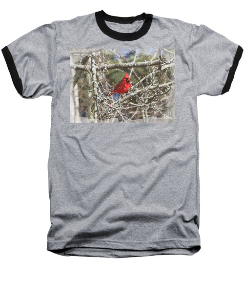 Baseball T-Shirt featuring the photograph Red Neck by Robert Pearson