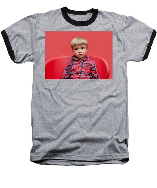 Red On Red Baseball T-Shirt