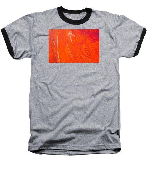 Red Paint Baseball T-Shirt