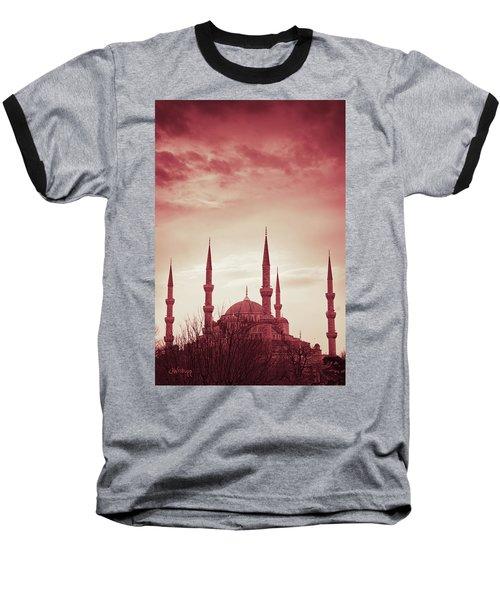 Red Peace Baseball T-Shirt