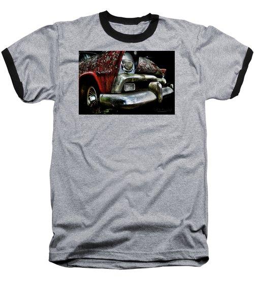 Red Plymouth Belvedere Baseball T-Shirt