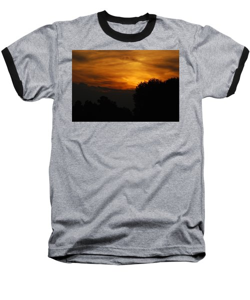 Red Red Sunset Baseball T-Shirt