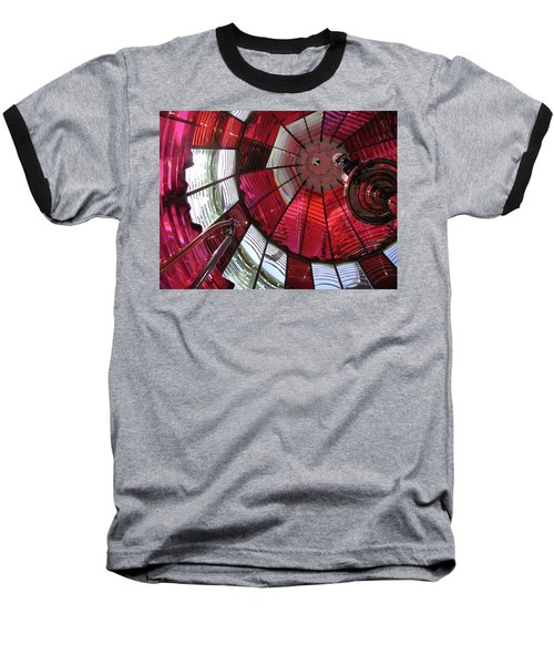 Red Reflections Baseball T-Shirt