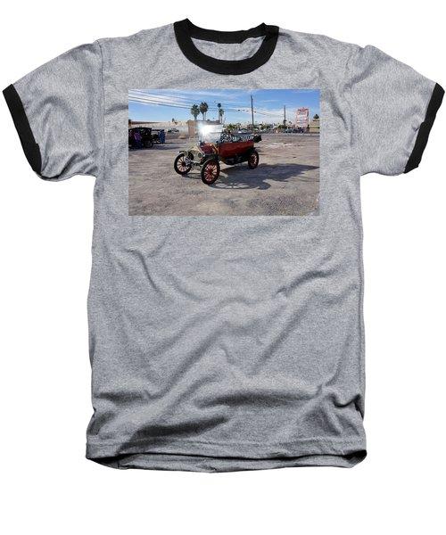 Red Roadster Baseball T-Shirt
