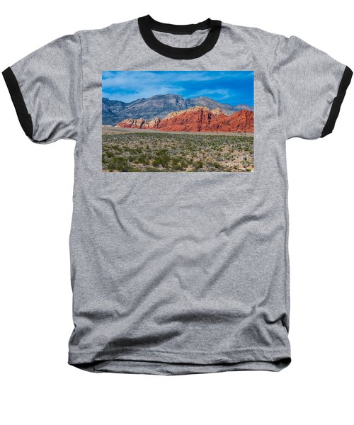 Red Rock Canyon Baseball T-Shirt