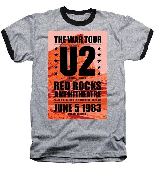 Red Rock Concert Baseball T-Shirt