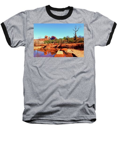 Red Rock Crossing Baseball T-Shirt