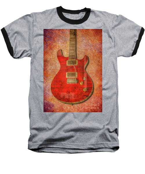 Red Rock Guitar Baseball T-Shirt