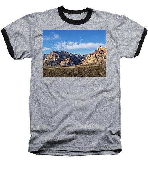Red Rock Morning Baseball T-Shirt