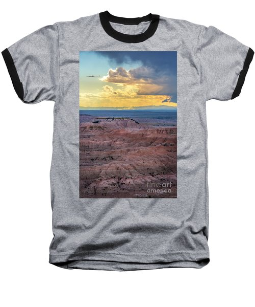 Red Rock Pinnacles Baseball T-Shirt