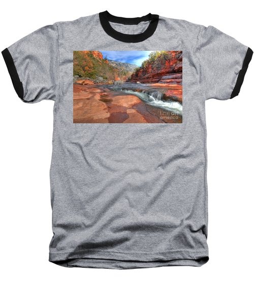 Baseball T-Shirt featuring the photograph Red Rock Sedona by Kelly Wade