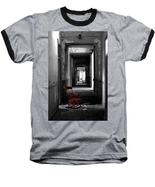 Red Rocker - Preston Castle Baseball T-Shirt