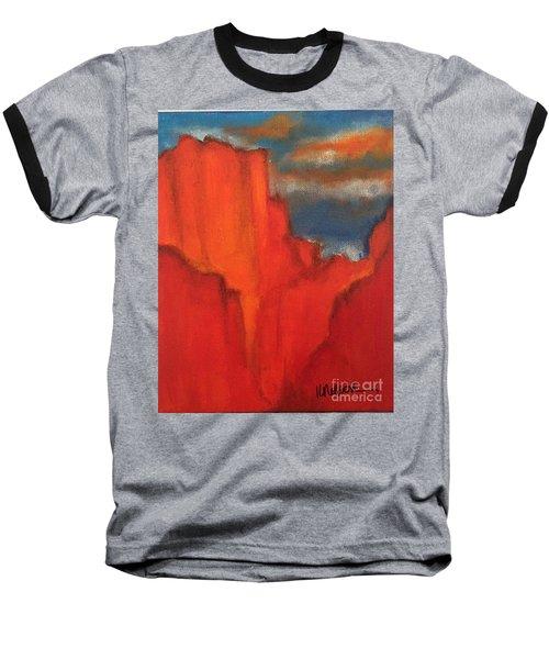 Red Rocks Baseball T-Shirt by Kim Nelson