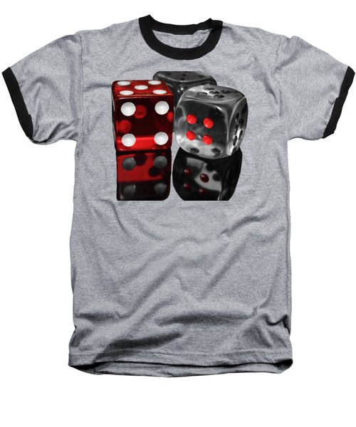 Red Rollers Baseball T-Shirt by Shane Bechler