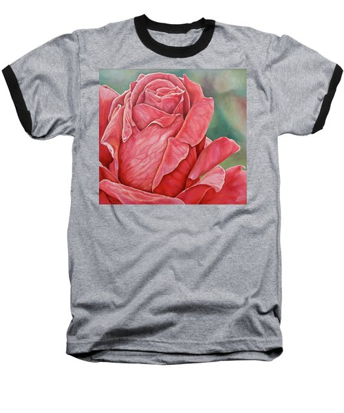 Red Rose 93 Baseball T-Shirt
