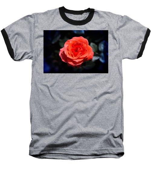 Red Rose Art Baseball T-Shirt