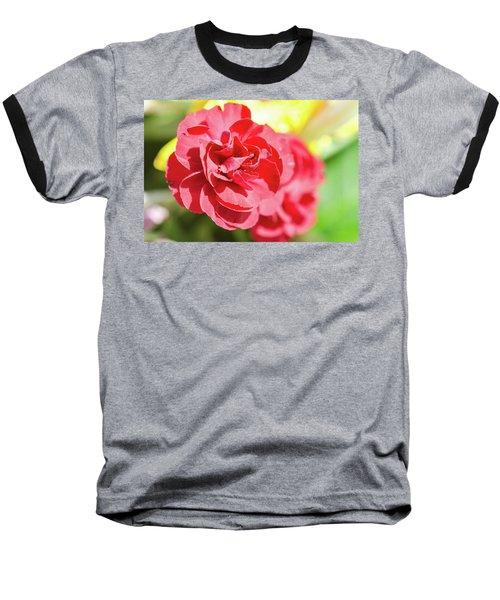 Red Rose II Baseball T-Shirt