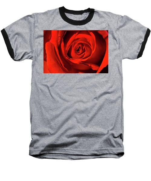 Red Rose Baseball T-Shirt