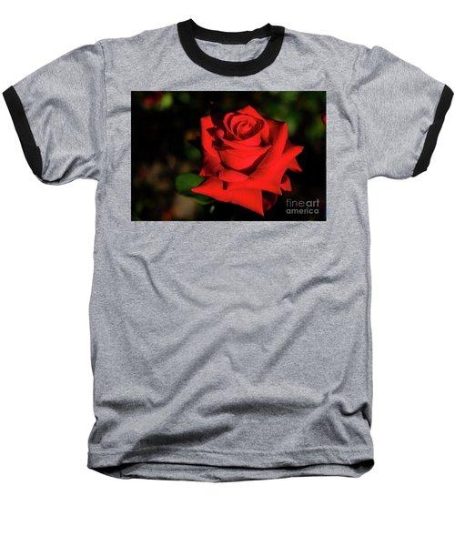 Red Rose Baseball T-Shirt