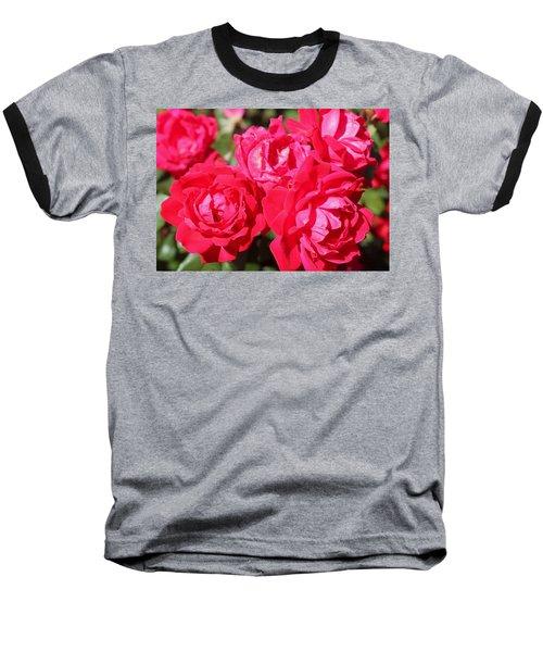 Red Roses 1 Baseball T-Shirt