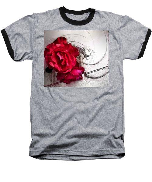Red Roses Baseball T-Shirt