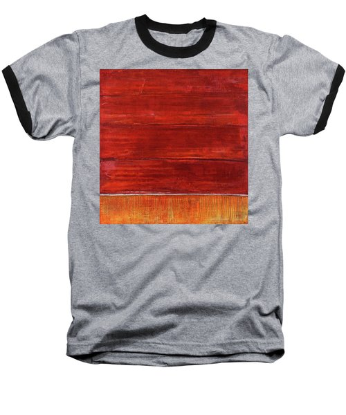 Art Print Abstract 50 Baseball T-Shirt