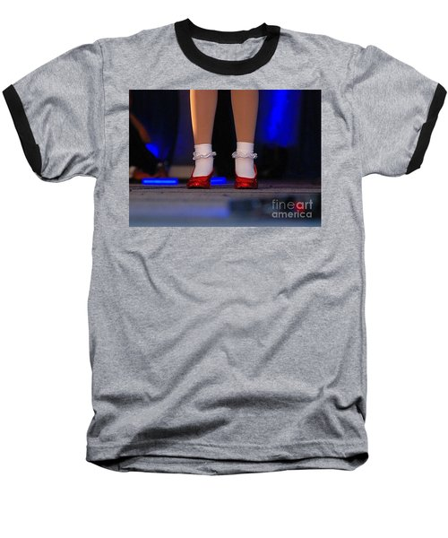 Red Shoes Baseball T-Shirt