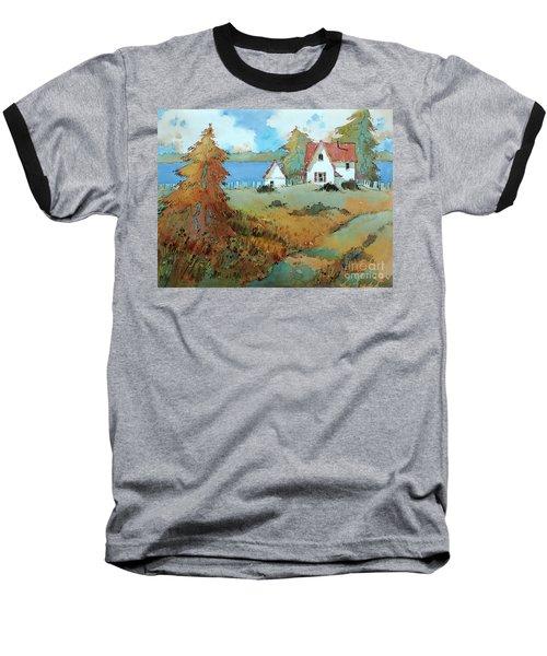 Red Shutters Baseball T-Shirt