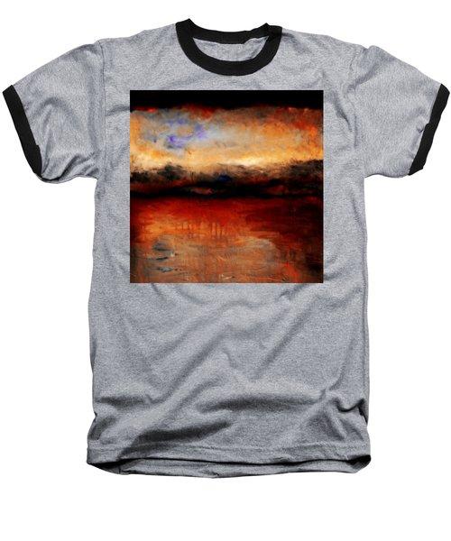 Red Skies At Night Baseball T-Shirt