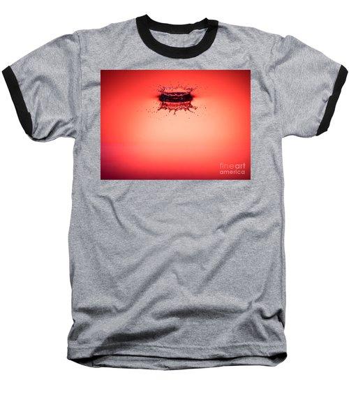 Red Splashdown 2 Baseball T-Shirt