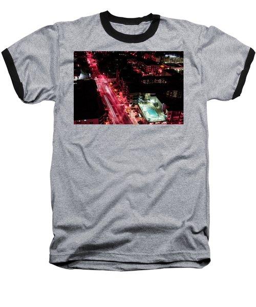 Red Streets Baseball T-Shirt