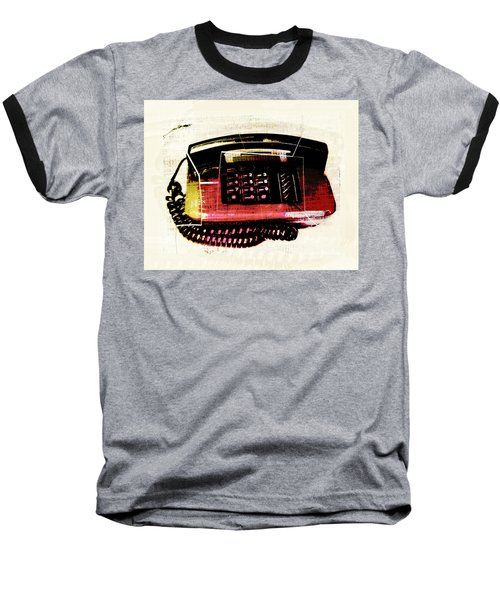Hot Red Phone Baseball T-Shirt