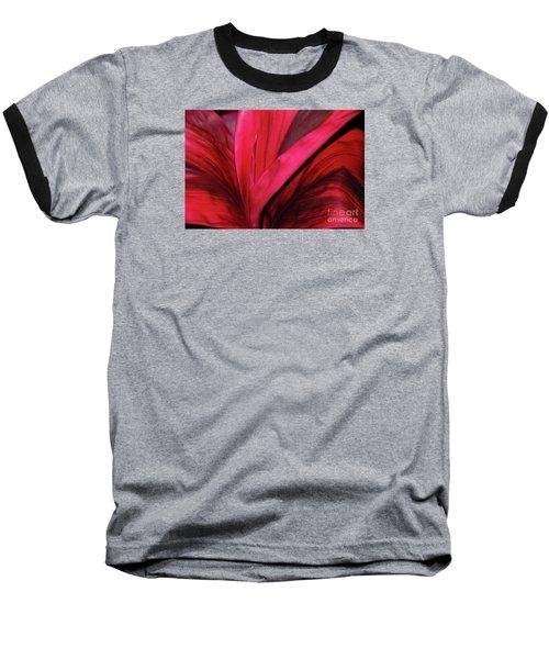 Red Ti Leaf Plant - Hawaii Baseball T-Shirt