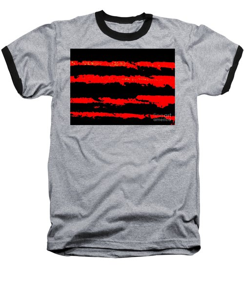 Red Tide Baseball T-Shirt by Tim Townsend