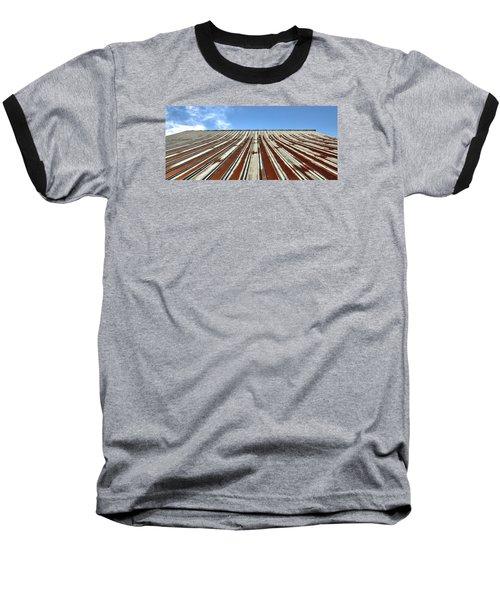 Red Tin Roof Baseball T-Shirt